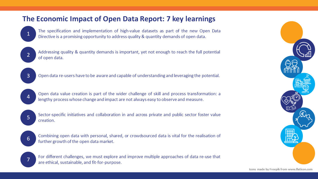 The Economic Impact of Open Data Report: 7 key learnings