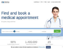 Doctena: Booking appointments with health specialists