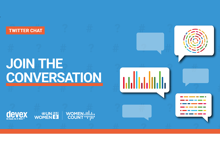 Twitter chat with UN Women on gender data