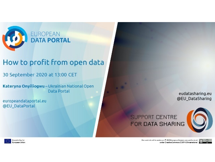 How to benefit from open data