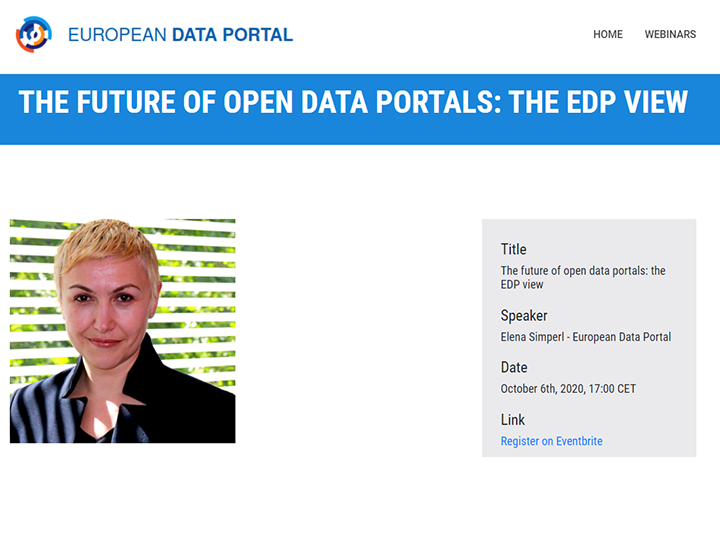 The Future of Open Data Portals: the EDP View