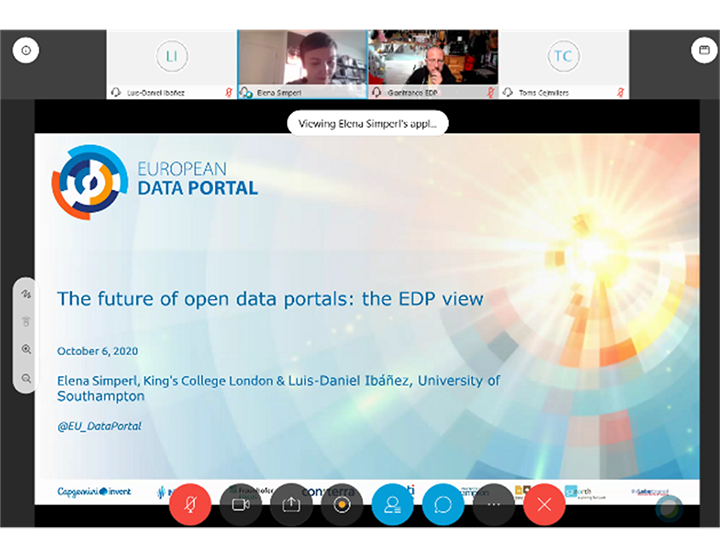Recap: Future of Open Data Portals: the EDP's view