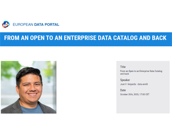The Future of Open Data Portals second webinar