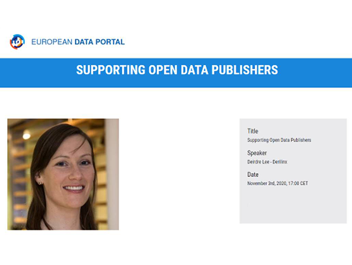 The Future of Open Data Portals third webinar