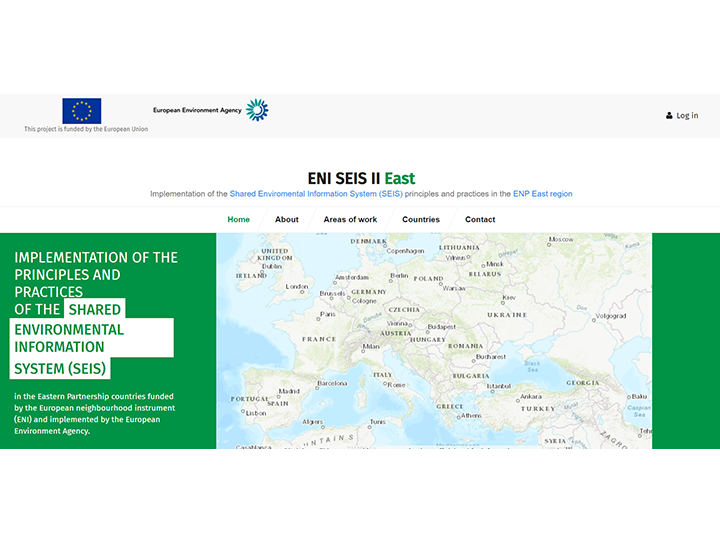 The EU's project for environmental data in Eastern Partnership