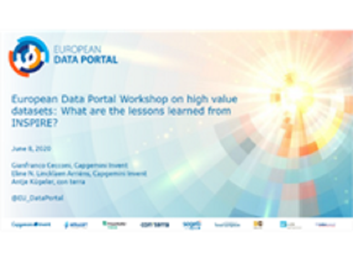European Data Portal and High Value Datasets