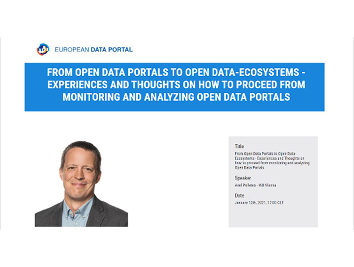 Save the date for the next Future of Open Data Portals webinar episode