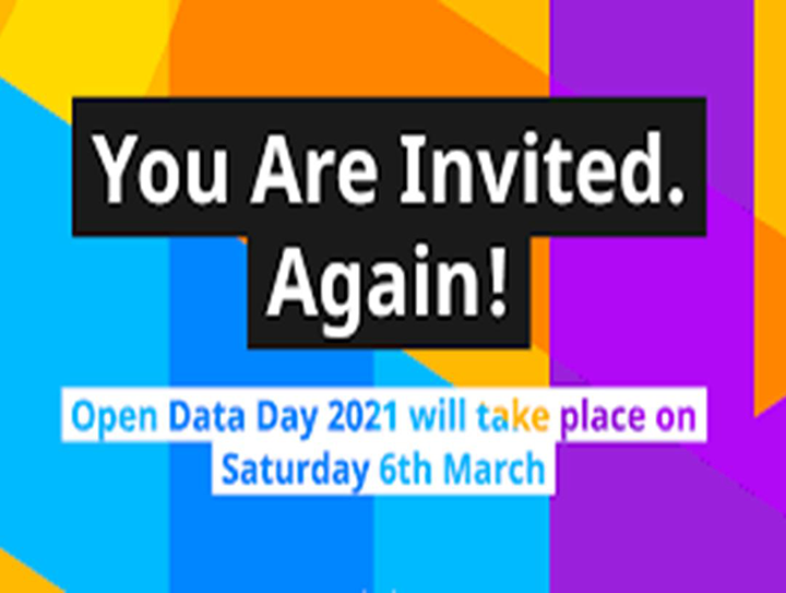 Save the date: Open Data Day 2021